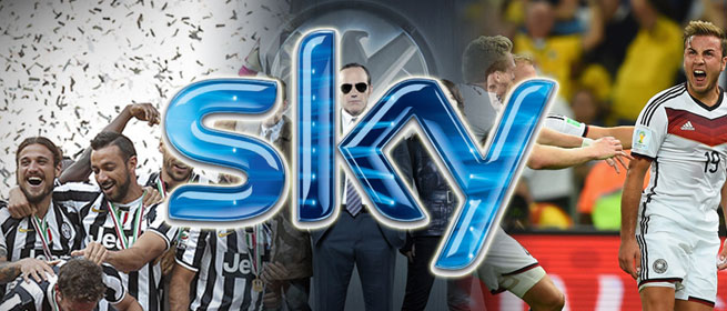 "Gallery 1 Sky Italy card + prepaid ""TV + Calcio"" subscription"
