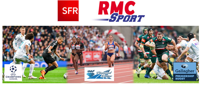 Subscribe To RMC SPORT SAT For 12 Months On A Fransat Card